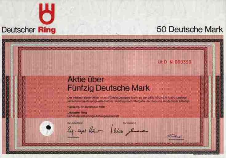 deutsche lebensversicherung ag hamburg: